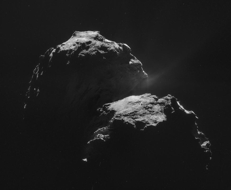 Мисията Розета - Първото кацане върху комета