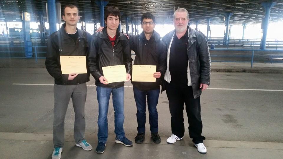 Юбилейна олимпиада на името на чешкия математик Войтех Ярник с успешно представяне на българския отбор